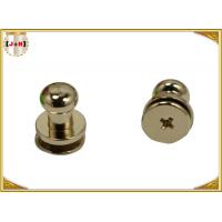 Quality Custom Metal Hardware For Bags / Handbags , Leather Purse Handles And Hardware for sale