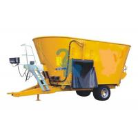Quality Mobile Feed Mixer Twin Augers Fodder Mixer Machine For Dairy Cows' Farm for sale