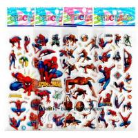 Quality Cartoon 3D Custom Puffy Stickers CMYK Offset Printing Easy Removing For Entertainment for sale