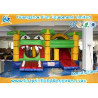 Quality Commercial Funny Large Inflatable Games Crocodile Bouncy Castle for sale