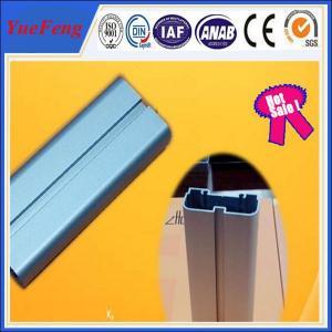 Quality 6063 T5 anodized aluminum blue flat bar / aluminium bar price per kg,  led light alu bar for sale