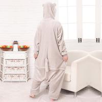 Quality Totoro Cartoon Flannel Conjoined Pajamas for sale