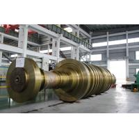 Buy 8000KW - 1000MW Steam Turbine Rotor Large Forging Shaft For Thermal Power at wholesale prices