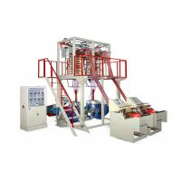 Quality Double Head Stretch Film Extrusion Machine , Blown Film Extrusion Equipment for sale