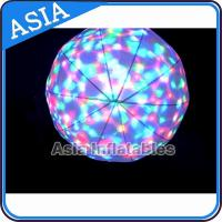 Quality LED Light  Helium Balloon And Blimps , Flying Advertising Colorful Inflatables for sale