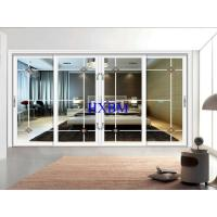 Australian style double glazed aluminium sliding windows with flyscreen for apartments for sale