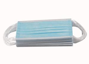 Quality CE FDA 3ply Non Woven Triple Layer Earloop Face Mask for sale