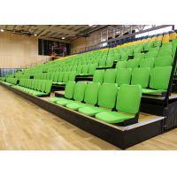 Buy cheap Gymnasium Retractable Stadium Seating Anti - Slip Plywood Decking With Blow from wholesalers