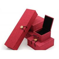Quality Luxury Necklace Paper Jewelry Box Offset Printing Durable For Presentation Gift for sale