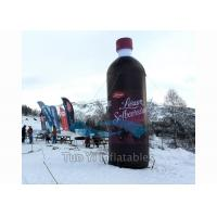 Quality Floating Bottle Display Promotional Giant Inflatable Beverage For Outdoor Activity for sale