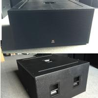 Dual 18'' Subwoofer 2500W RMS 5000W Peak pro audio subwoofer  power speaker box outdoor concerts speaker system for sale