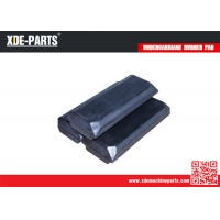 Quality XDE Bolt On Rubber Pad 800X165X80 Rubber Pad Excavator Rubber Pad For Sale for sale