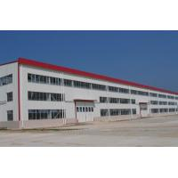 Quality Workshop Pre Engineered Clear Span Steel Buildings Modular Design Three Layers Floors for sale