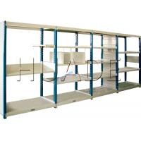 Quality Medium Duty Long Span Shelving Boltless Storage Rack For Boxes / Cartons / Bins Storage for sale