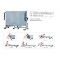 Quality Mobile Folding Manual Hospital Bed For Attendant Nursing People for sale