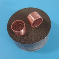 Quality Euro4 auto honeycomb ceramic catalyst DPF cleaning with metal cover for sale
