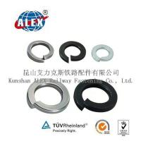 Quality Black Dioxide Railway Spring Locking Washer for sale