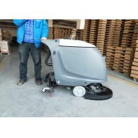 Quality Semi-automatic Battery Powered Floor Scrubber In 18 Inch And 20 Inch Brush for sale