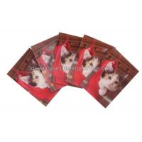 Quality Rectangle Adhesive 3D Lenticular Stickers For Children's Book PET/PP Printing for sale