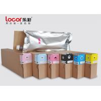 Low Smell 6 Colors Inkjet Printer Ink , Water Based Pigment Ink Weather Resistance for sale