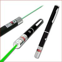 Quality 532nm 200mw green laser pointer green laser pen green laser beam light with five caps for sale