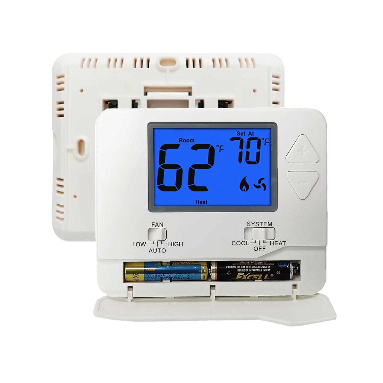 Buy cheap Digital 24V Non Programmable Air Conditioning Room Thermostat Eco - Friendly from wholesalers