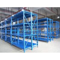 Quality Standard Size Medium Duty Racking Welded Upright For Garage Goods Storage Shelves for sale