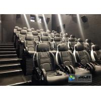 Quality Unique 5D Cinema Simulator With Leather Seats And Low Noise Cylinder for sale