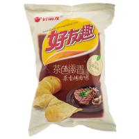 Quality Back Seal Potato Chip Packaging Bag , Custom Food Packaging Bag for sale