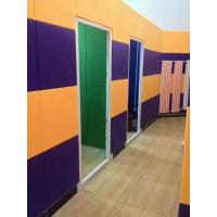 Quality SGS Approval Polyester Fiber Sound Acoustic Panels For Interior Wall Panelings for sale