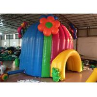 Quality Colourful Blow Up Party Tent Wind Resistant , Outdoor Amusement Park Blow Up Event Tent for sale