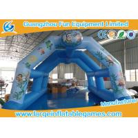Quality 0.4mm PVC Inflatable Air Tent Tunnel Fire Retardant Attractive 12 Months Warranty for sale