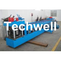 Quality U Channel Roll Forming Machine for Making U Purlin Profile with Pre-cutting & Pre-punching for sale