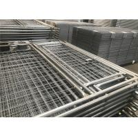 Quality Temp Fence Panels Construction Residential with Pedestrian Gates for sale