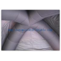 China Advertising Inflatable Air Tent , Black Blow Up Spider Dome Tent for sale