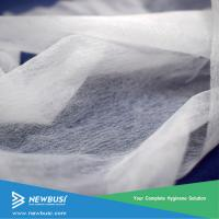 Buy cheap super soft sss hydrophilic non woven for baby diaper topsheet from wholesalers