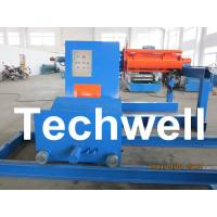 Quality High Speed 0 - 15m/min Uncoiling Speed 5 Ton Automatic Uncoiler / Decoiler Curving Machine for sale
