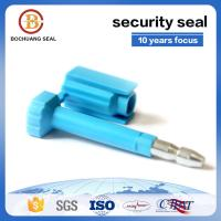China hot sale disposable shipping high security yellow green white blue seals for shipping container door B204 for sale