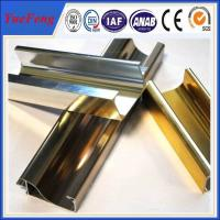 Quality China supplier aluminium profile for bacony rail / polished aluminum extrusion profiles for sale