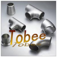 Quality butt weld seamless/welded stainless steel pipe fitting for pipeline for sale