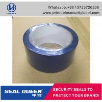 Quality Blue / Red Security Seal Tape , 25 Microns Tamper Evident Sealing Tape for sale