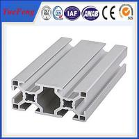 Quality Aluminium industry extrusion profile , Aluminium alloy display stand OEM design for sale