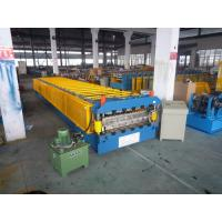 China 10 Tons Concrete Roof Tile Making Machine for Wall Board 15m/min on sale