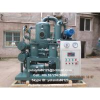 China Insulating Oil Filtration Equipment/Vacuum Transformer Oil Water Separator ZYD-D on sale