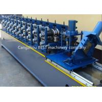 Quality Steel Garage 2' And 3' Track Door Guide Roll Forming Machine 3kw Motor Power for sale