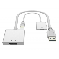 China 1080P USB To HDMI 220mm Converter Adapter Cable on sale