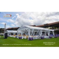 Clear Roof Top Aluminum and PVC Transparent Tent for Outdoor Wedding Party and Events for sale