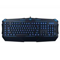 AULA SI-863 Rubber Membrane Keyboard With 3 Colors Backlit Cool Shape