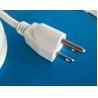 UL Nema 5-15p plug with white flexible AC cords SVT SJT SJTW SPT-2 SPT-3 cables for sale