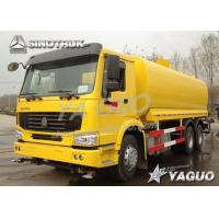 Quality HOWO 6x4 ENGINE POWER 290HP, WATER VOLUME 20-25CBM WATER TANK TRUCK for sale